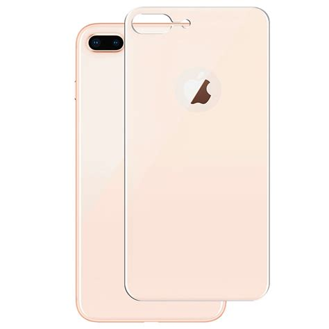 Glass Belakang Iphone 8 Plus iphone 8 plus panzer curved silicate glass beskyttelse av bakdekslet gull