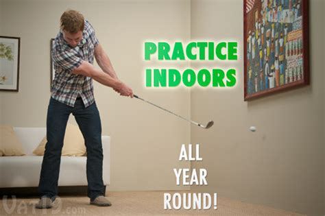 practice golf swing indoors floppy indoor golf ball practice your short game anywhere