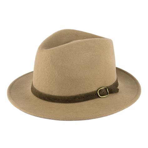 Handmade Wool Hats - 100 wool fedora hat with suede belt handmade in italy ebay