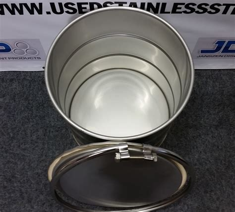 10 Gallon Barrel - 10 gal 304 new stainless open barrel 1 0mm used