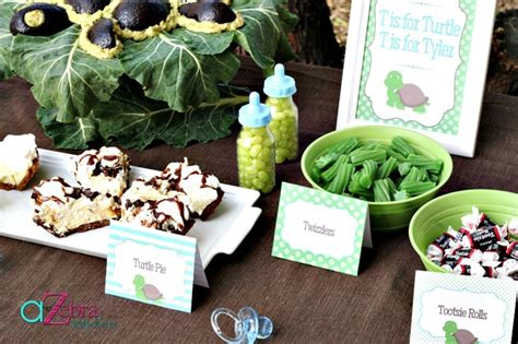 Turtle Themed Baby Shower Decorations by Baby Shower Food Ideas Baby Shower Ideas Turtle Theme