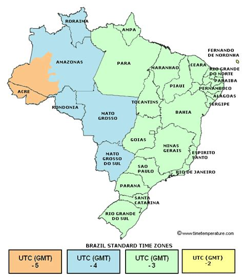 map usa brazil brazil time zone map compared to usa