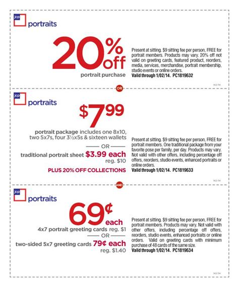 jcpenney portrait coupons printable 3 99 jcpenney 10 off 10 coupon 2017 2018 best cars reviews