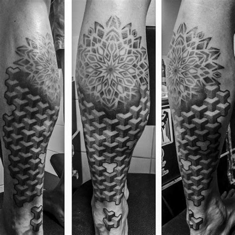 fractal tattoo design 80 fractal designs for repeating geometry ink