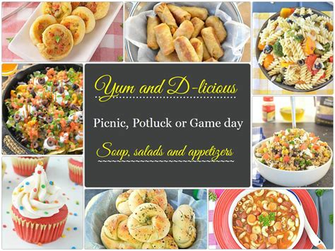 easy day or potluck appetizers