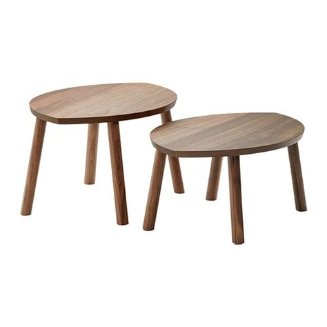 Ikea Satztische by Stockholm Nesting Tables Set Of 2 Ikea