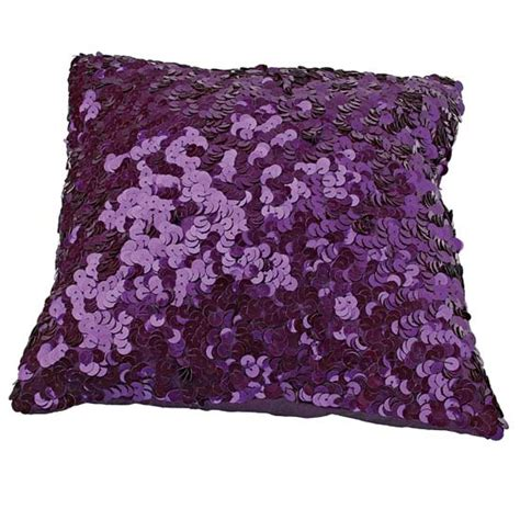 Purple And Pillows by Purple Sequin Cushions And Pillows Panda S House