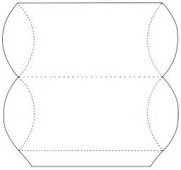 Pillow Box Template by Pillow Box Templates Patterns Div