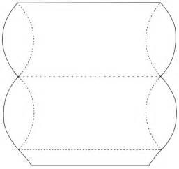 pillow box template pillow box templates patterns div