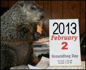 groundhog day saying groundhog day quotes saying quotesgram