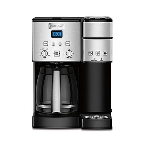 cuisinart coffee maker bed bath and beyond cuisinart 174 coffee center ss 15 12 cup coffee maker and