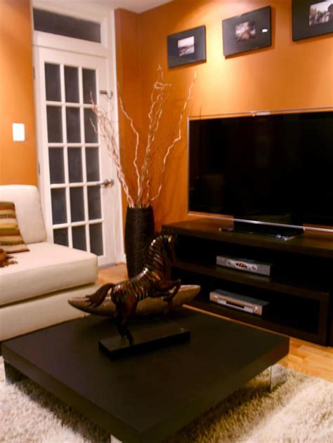 orange and brown living room 25 best ideas about orange living rooms on pinterest