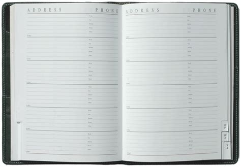 address and phone book daily organizers amp name and address book inserts