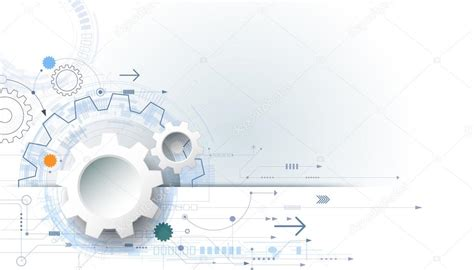 For Mba With Engineering Background by Vector Futuristic Technology Background 3d White Paper