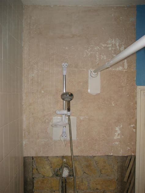 Aquapanel For Bathrooms by Fit Aquapanel And Replace Mixer Shower Bathroom Fitting