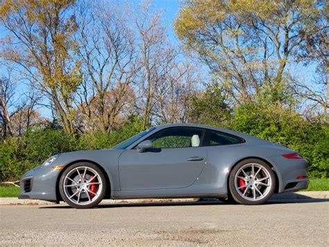 Porsche Carrera 911 4s by 2017 Porsche 911 Carrera 4s Second Drive