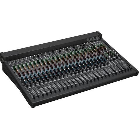 Mixer Mackie 6 Channel mackie 2404vlz4 24 channel 4 fx mixer with usb 2404 vlz4 b h