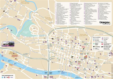 Printable Map Glasgow City Centre | printable map of glasgow city centre printable maps