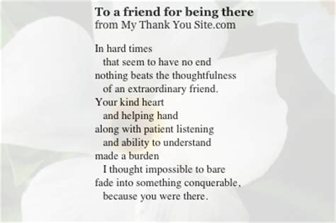 thank you letter to a dying friend poems about for about about about