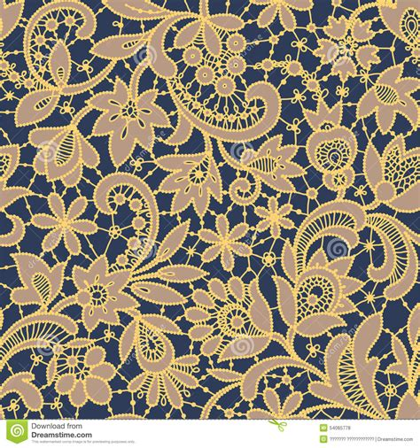 gold pattern seamless gold lace seamless pattern stock vector image 54065778