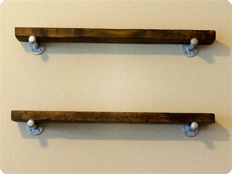 wooden wall shelves ideas ideas for building reclaimed wood shelves