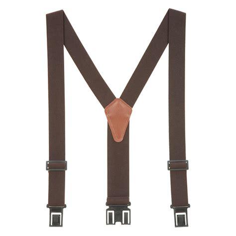 perry belt clip suspenders 1 5 inch wide suspenderstore