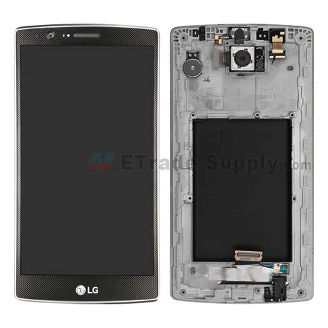 Lcd Lg G4 lg g4 f500 lcd assembly with front housing black etrade