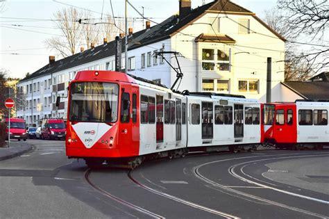 Die B Wagen 2421 2422 Als Linie 5 Auf Der