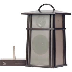 acoustic research aw825 wireless outdoor lantern speaker aw825