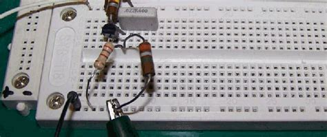 transistor lifier breadboard design a bipolar transistor lifier without using