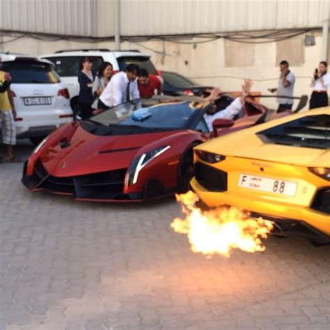 lamborghini veneno crash red lamborghini veneno roadster spotted in dubai uae