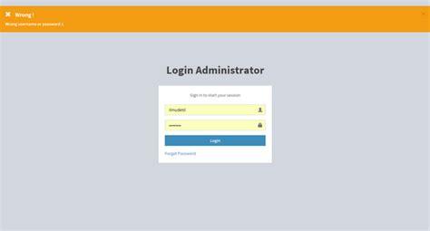 membuat halaman login dengan php bootstrap membuat form login dashboard admin dengan php mysql