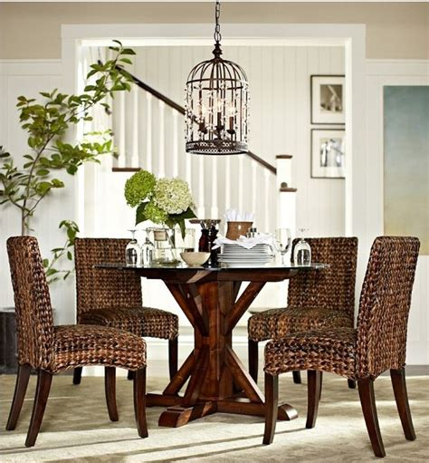 Decorating Ideas For Dining Rooms Sillas De Rattan Pottery Barn Rattan Pinterest Best