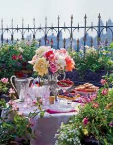 wedding garden tea theme centerpieces and table decorations table