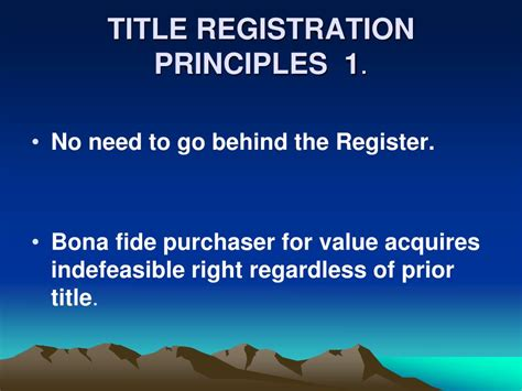 curtain principle land registration ppt land registration systems powerpoint presentation