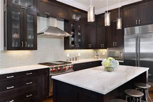 espresso cabinets with granite espresso cabinets with granite kitchen transitional with
