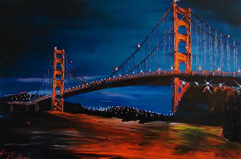 blue of the golden gate bridge 1 by dunbar