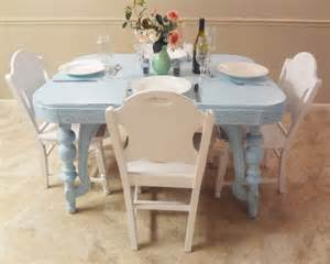 Shabby Chic Dining Room Chairs by Shabby Cottage Chic Furniture Dining Room By Thepinktoolbox