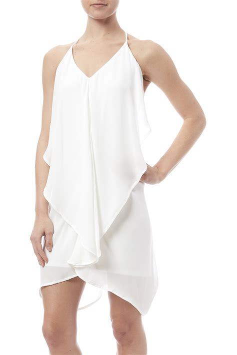 Ruffle Dress B L F hyfve ruffle dress from new york city by dor l dor