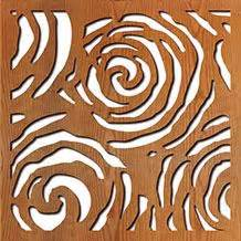 Lu Plasma Motif Ular lightwave laser laser cut library of patterns gallery silhouette trees and leaves