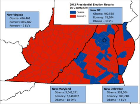 maryland election map 2012 had maryland annexed virginia here s what demographics