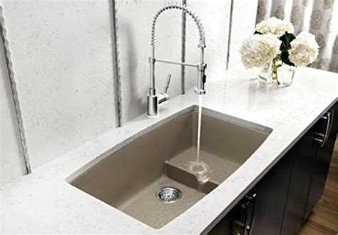 blanco metallic gray sink blanco 440067 performa single basin undermount granite