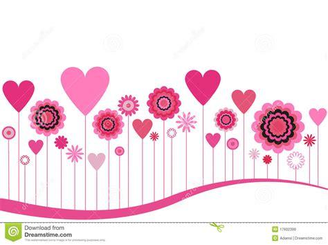 imagenes de flores y corazones infantiles flores y corazones florecientes