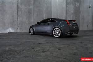 Cadillac Cts With Rims Cadillac Cts V Coupe Gets Vossen Cvt Wheels