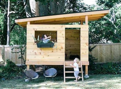 Backyard Playhouse Ideas 2 Wonderful Backyard Playhouses