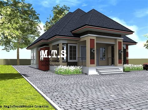 4 bedroom bungalow design more designs see for yourselves properties nigeria