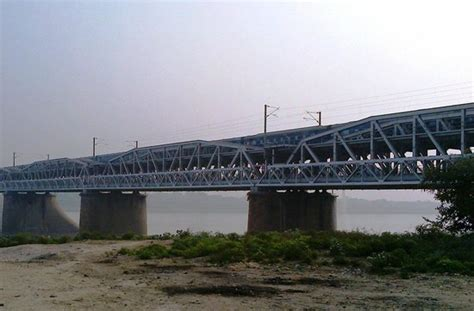 boat club in allahabad old bridge review of old naini bridge allahabad india