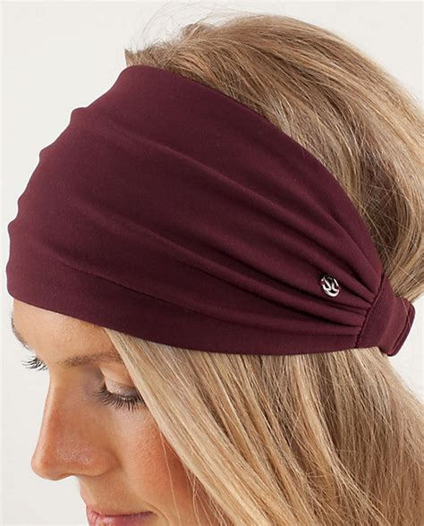 lululemon patterned headbands lululemon bang buster headband for early travel and bad