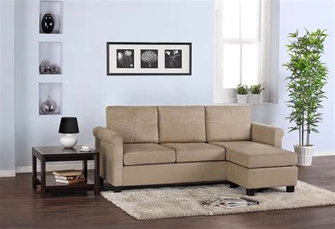 small beige sectional sofa sectional sofa for small spaces homesfeed