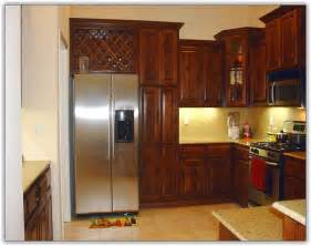 Kitchen Cabinets Solid Wood Construction by Dark Knotty Alder Kitchen Cabinets Home Design Ideas
